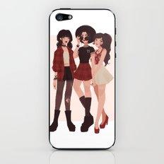 Ozai's Angels iPhone & iPod Skin