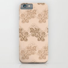 Brown Lace iPhone 6s Slim Case