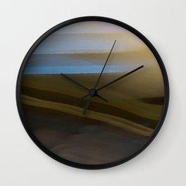 Chocolate Dawn Wall Clock