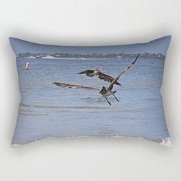 A Gentleman Undone Rectangular Pillow