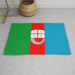 flag of liguria Rug
