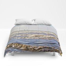 Stormy Day (Digital Art) Comforters