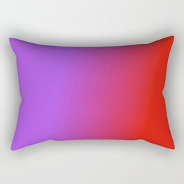 Ombre in Purple Red Rectangular Pillow