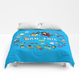 The Vortex of Everything Dan and Phil Comforters