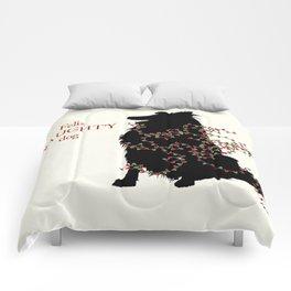 Feliz NAUGHTY Dog Comforters