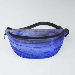 psychedelic sky clouds pattern wsdbbi Fanny Pack