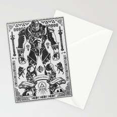 Legend of Zelda Ganondorf the Wicked Stationery Cards