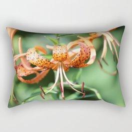 Spotted Summer Lilies Rectangular Pillow
