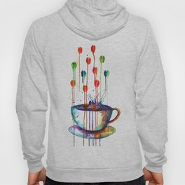 Coffee Splash Hoody