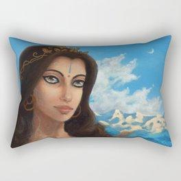 Sylvan Mountain Princess Rectangular Pillow