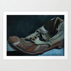 The Old Shoe Art Print