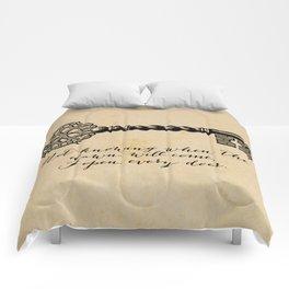 Emily Dickinson - I Open Every Door Comforters