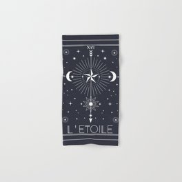 L'Etoile or The Star Tarot Hand & Bath Towel