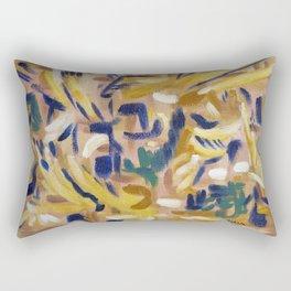 The theme of Unfinished Symphony ( Franz Schubert) Rectangular Pillow
