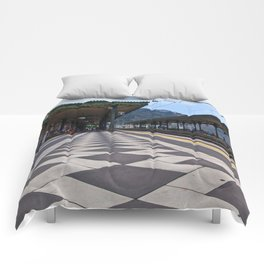 Train Station of Giardini Naxos on the Isle of Sicily - The Godfather Comforters