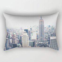 New York City and the Empire State Building Rectangular Pillow