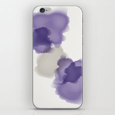 Purple Splash iPhone & iPod Skin