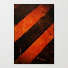 LAST WARNING! Canvas Print