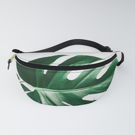 Simple greens | Botanical fine art photography print | Palm leaf poster Fanny Pack