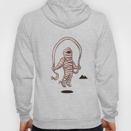 mummy jumping rope Hoody
