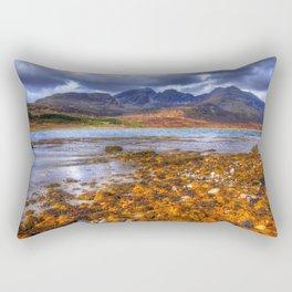 Loch Slapin, Isle of Skye Rectangular Pillow