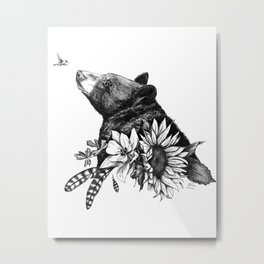 Mary Ann's Garden Metal Print
