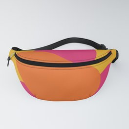 Yellow shapes Fanny Pack