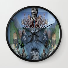 SC REMIX3~ ONE MORE COME Wall Clock