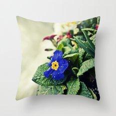 The Flower Pot Throw Pillow