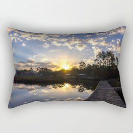 Sunrise Clouds Rectangular Pillow