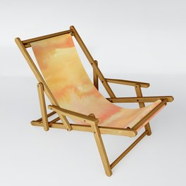 Apricot Sunset Sling Chair