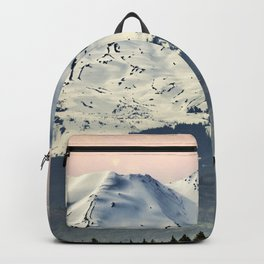 Mount St. Helens at Sunset Backpack