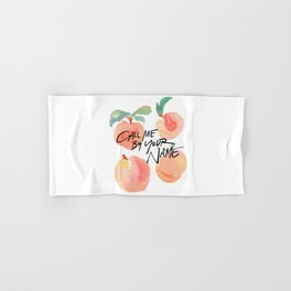 Call Me By Your Name - Peaches Hand & Bath Towel