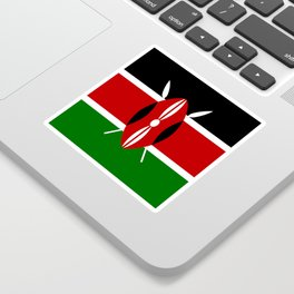 Flag of Kenya Sticker