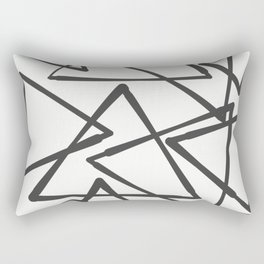 TRIANGLES Rectangular Pillow