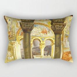 Vintage Ravenna Italy Travel Rectangular Pillow