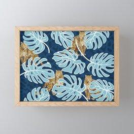 LEOPARDS IN THE JUNGLE Framed Mini Art Print