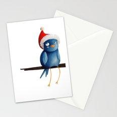 Christmas Bird Stationery Cards