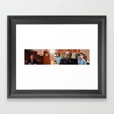 Interior Double R Framed Art Print