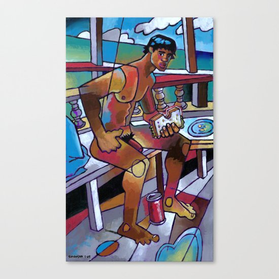 Sandwich Canvas Print