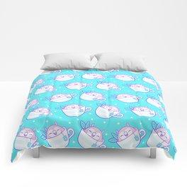 Owl Tea Comforters