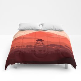 The Forest Lookout Comforters