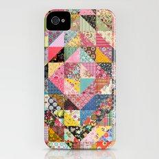 Grandma's Quilt Slim Case iPhone (4, 4s)
