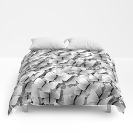 White Butterflies Comforters