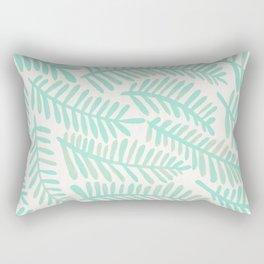 Fronds – Mint Green Palette Rectangular Pillow
