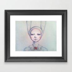 A murder mystery Framed Art Print