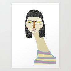 fashion illustration Art Print