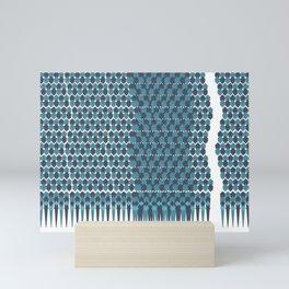 Cubist Ornament Pattern Mini Art Print