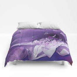 Cactus Orchid Indigo Touch Comforters