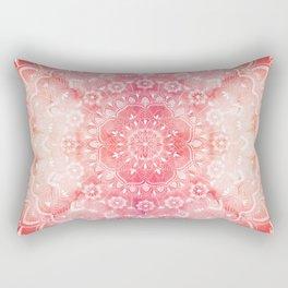 Mandala and Fire Rectangular Pillow